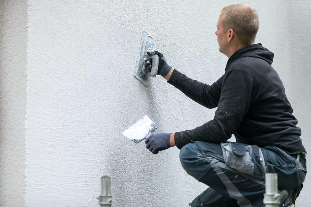 Fixing stucco